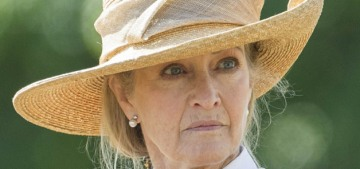 Prince Philip's special 'friend' Penny Knatchbull is mourning privately