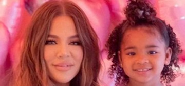 Khloe Kardashian brought masked Disney princesses to True's third b-day party