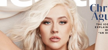 Christina Aguilera: 'Entering this business, I hated being super skinny'