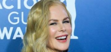 Nicole Kidman: 'I feel better inside when I decide to do my hair & put on a dress'