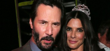 """Sandra Bullock & Keanu Reeves should make more movies together"" links"