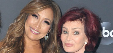 Sharon Osbourne sent Carrie Ann Inaba flowers, did she send them to Sheryl or Elaine?
