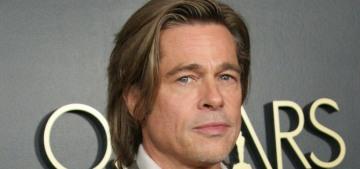 Brad Pitt left a Beverly Hills medical center in a wheelchair following a dental procedure?