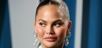 Chrissy Teigen is back on Twitter less than a month after she melodramatically left