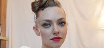 Amanda Seyfried on her second child 'I haven't slept in two months'