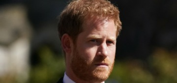 Prince Harry is probably taking a flight back to California today, or maybe not?