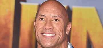 Dwayne Johnson got Jason Momoa to record a message for his daughter's 3rd birthday
