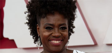 Viola Davis in McQueen at the 2021 Oscars: incredible and unique?