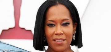 Regina King in Louis Vuitton at the 2021 Oscars: one of the best looks of the night?