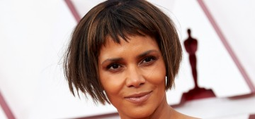 Halle Berry wore Dolce & Gabbana and had Lord Farquaad hair for the 2021 Oscars
