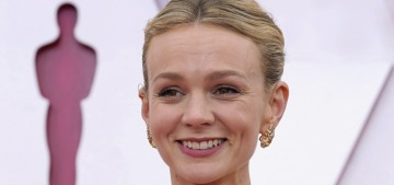 Carey Mulligan & Zendaya wore Valentino bandeau-topped gowns: meh or gorgeous?