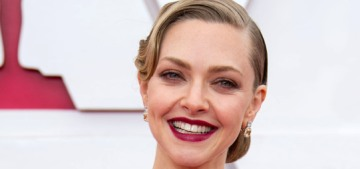 Amanda Seyfried in red Armani at the 2021 Oscars: stunning or tulle tomato?