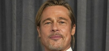 Brad Pitt looked especially fresh-faced at the Oscars following his 'wisdom teeth removal'