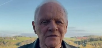 Anthony Hopkins thanks the Academy, pays tribute to the late Chadwick Boseman