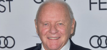 Anthony Hopkins pleaded with Oscar producers to be allowed to Zoom into the awards