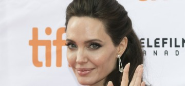 Angelina Jolie: 'You just get so broken and then you stand back up'
