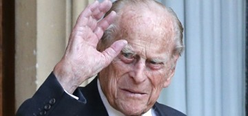 Prince Philip's just-released death certificate says he officially died of 'old age'