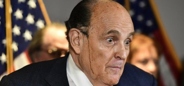 Donald Trump still hasn't paid Rudy Giuliani's broke ass for the Angry Fart Tour
