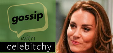 'Gossip with Celebitchy' podcast #90: Will and Kate always sit far apart