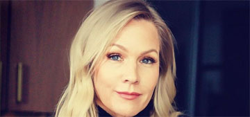 Jennie Garth on raising teenagers: 'it's definitely not for the faint of heart'