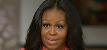 Michelle Obama says people who come around her family need to be vaccinated