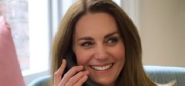 Duchess Kate did some calls for 'Hold Still' last year and she's vlogging about it now