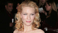 Cate Blanchett to take a year off – for new baby?