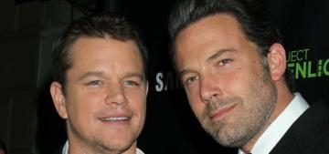Matt Damon on the OG Bennifer revival: 'I hope it's true, that would be awesome'