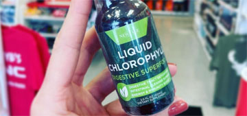 What is liquid chlorophyll and is it as good as TikTokers claim?
