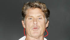 David Hasselhoff rushed to hospital for alcohol poisoning – again