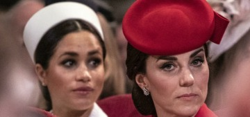 The Cambridges & Sussexes are competing in a 'petty transatlantic popularity contest'
