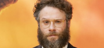 Seth Rogen: My wife 'wants kids less than I do… I could probably be talked into it'