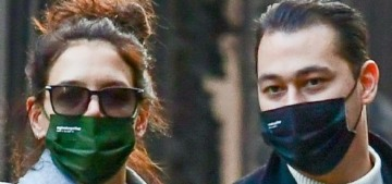 Katie Holmes & Emilio Vitolo, the pandemic couple, broke up a few weeks ago