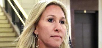 """Nutjob Marjorie Taylor Greene has been harassing AOC"" links"