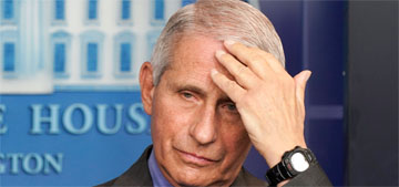 Dr. Fauci: People are misinterpreting the CDC's mask guidance
