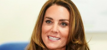 Duchess Kate is 'leading the charge' on the pie-chart-intensive social media strategy