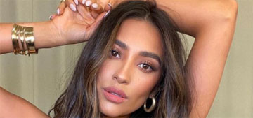 Shay Mitchell has over 20 pints of ice cream in her giant freezer: goals?