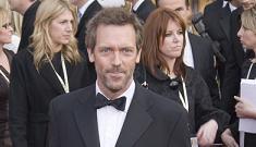 Hugh Laurie says he's battling depression