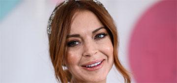 Lindsay Lohan got an actual acting job, on a Netflix Christmas romcom