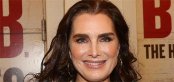Brooke Shields got a staph infection after surgery on her femur