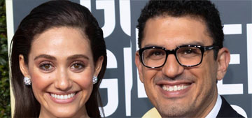 Emmy Rossum welcomed a daughter with Sam Esmail, we never knew she was pregnant