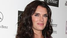 Brooke Shields drove into her own house