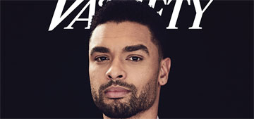 Rege Jean-Page covers Variety: I want everything I do to be as sexy as Bridgerton