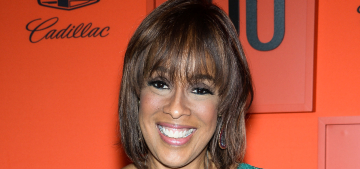 Gayle King is 'tired of being scared' and is taking 'baby steps' back into the world