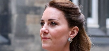 Countess Kate wore a Catherine Walker coatdress for the final events in Scotland