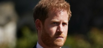 Prince Harry was informed of his grandfather's passing by a sheriff's deputy