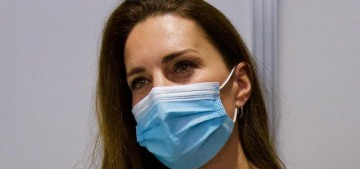 Duchess Kate got vaccinated just after breathing on people all over Scotland