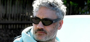 Taika Waititi was reportedly 'reprimanded' by Marvel bosses for those throuple photos