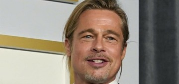 Brad Pitt & Andra Day apparently exchanged numbers at this year's Oscars