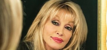 Dolly Parton wears makeup at night because 'my poor husband has to look at me'